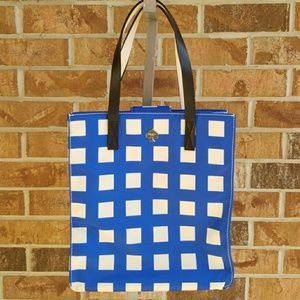 Kate Spade Blue and White Tote